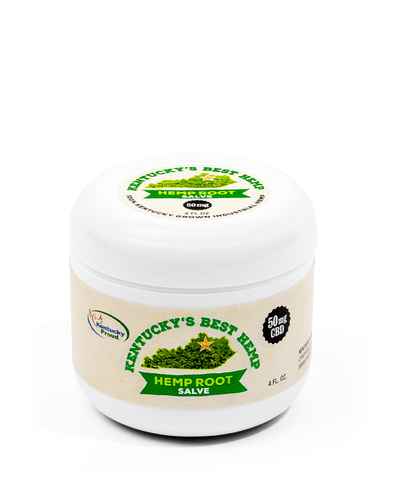 Kentucky's Best Hemp Root salve helps with muscle recovery!
