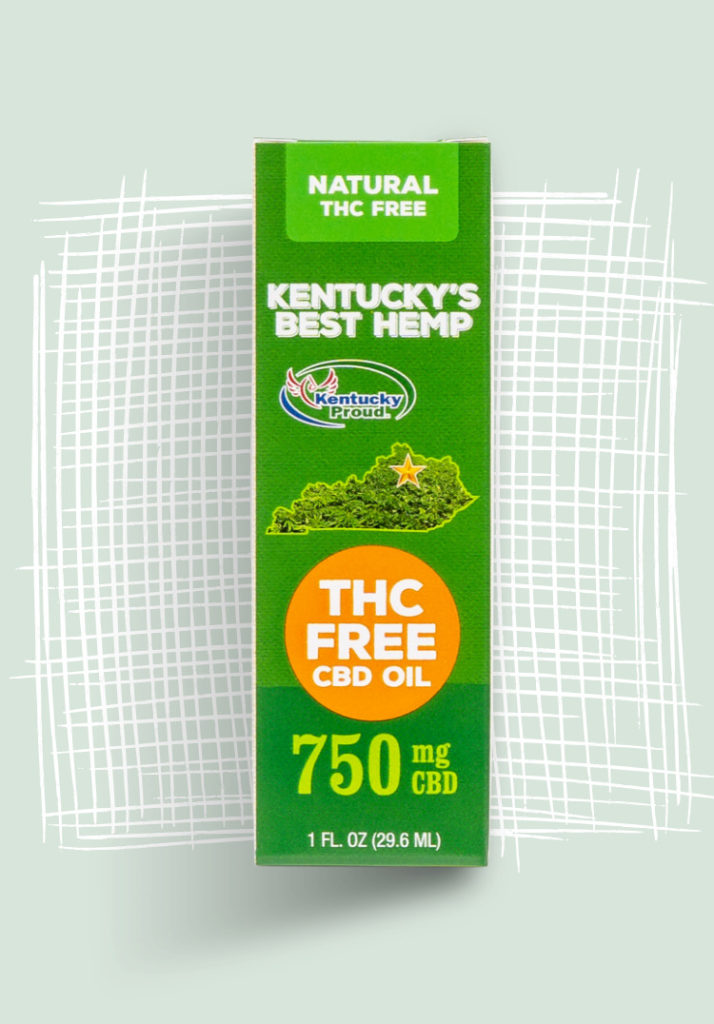 Kentucky's Best Hemp - THC Free CBD Oil Hero