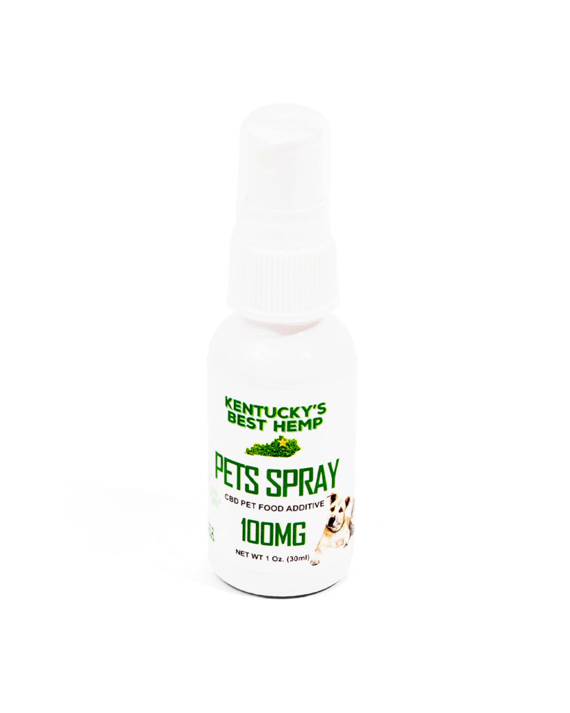 Kentucky's Best Hemp CBD Pet Spray 100mg image