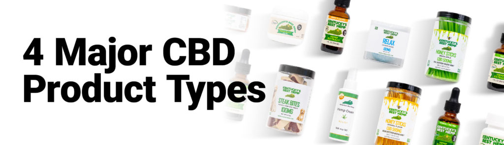 Image of CBD edibles, CBD topicals, CBD oil