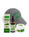 Ky's Best Father's Day Bundle - Image of 250 mg CBD oil, best hemp hat, and CBD Salve