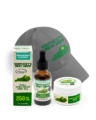 Ky's Best Father's Day Bundle - Image of 250 mg flavored CBD oil, best hemp hat, and CBD Salve