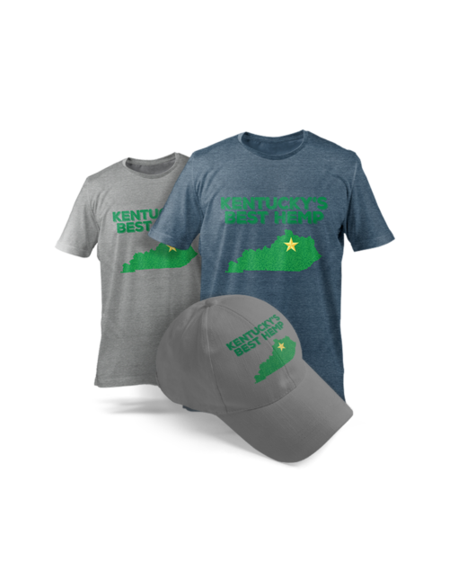KY's Best Hemp T Shirt and Hat Bundle